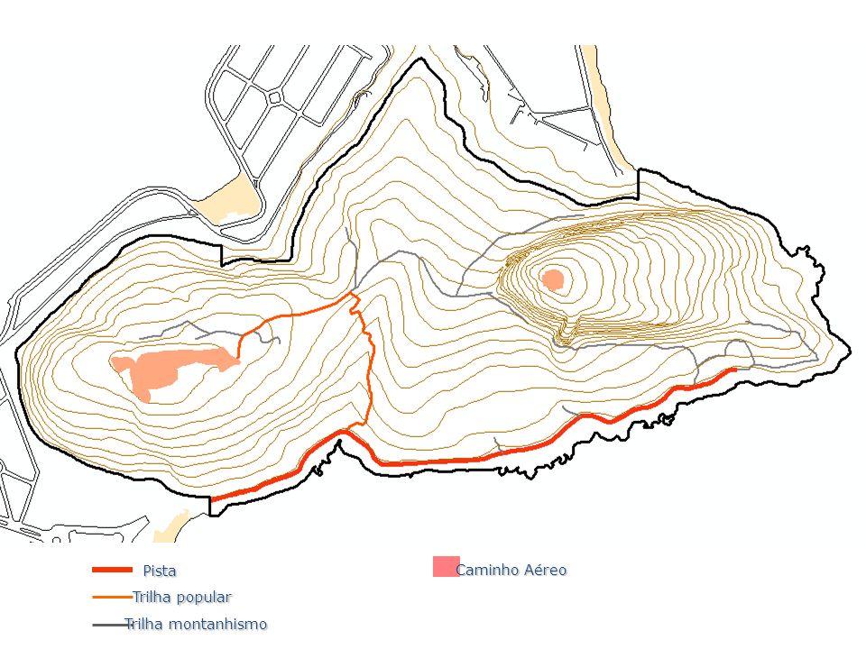 Pista Trilha popular Trilha montanhismo Caminho Aéreo