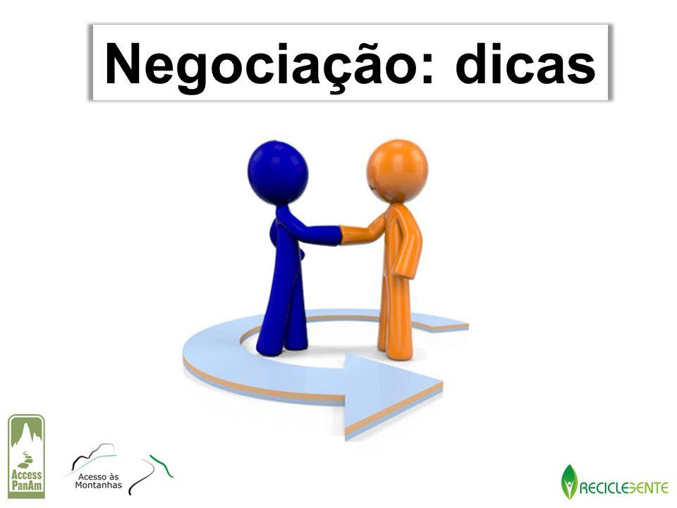 Negociação: dicas