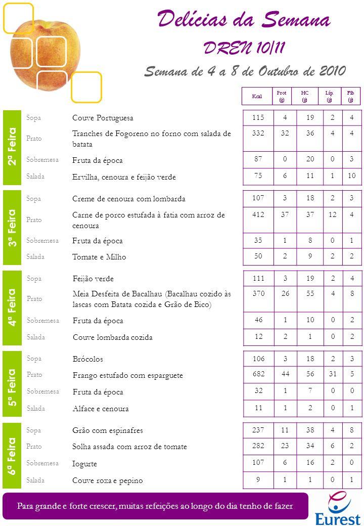 Sopa Feijão verde 11131924 Prato Meia Desfeita de Bacalhau (Bacalhau cozido às lascas com Batata cozida e Grão de Bico) 370265548 Sobremesa Fruta da é