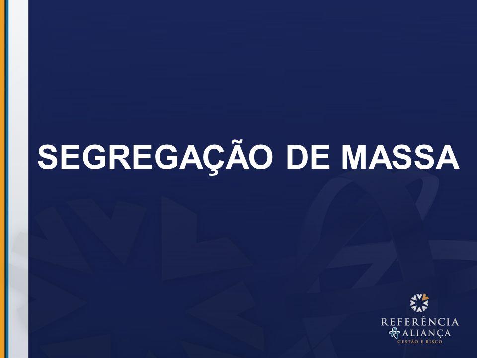 SEGREGAÇÃO DE MASSA