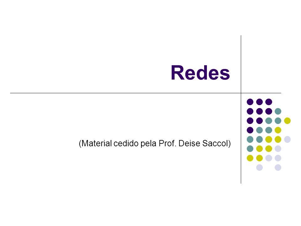 Redes (Material cedido pela Prof. Deise Saccol)
