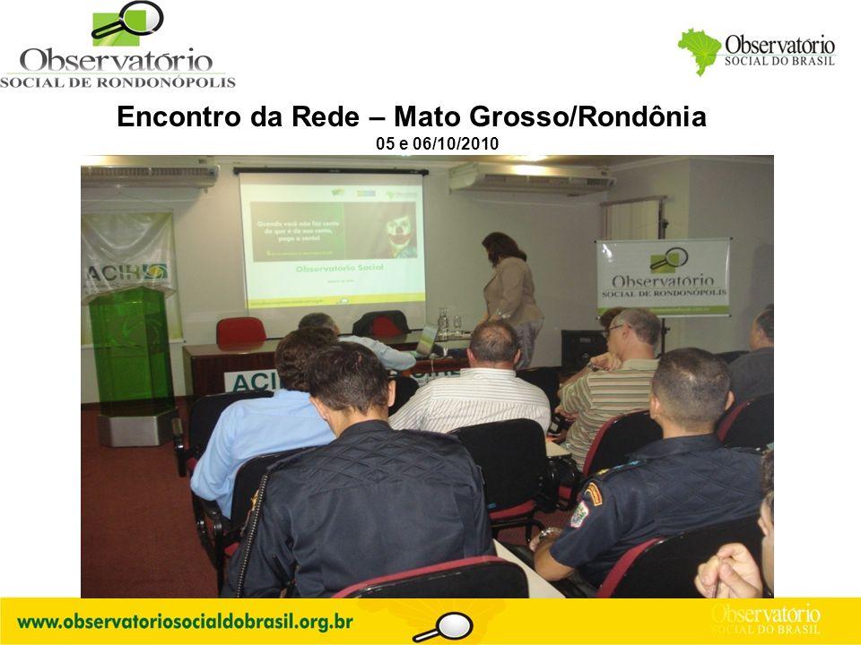 Logo do OS Encontro da Rede – Mato Grosso/Rondônia 05 e 06/10/2010