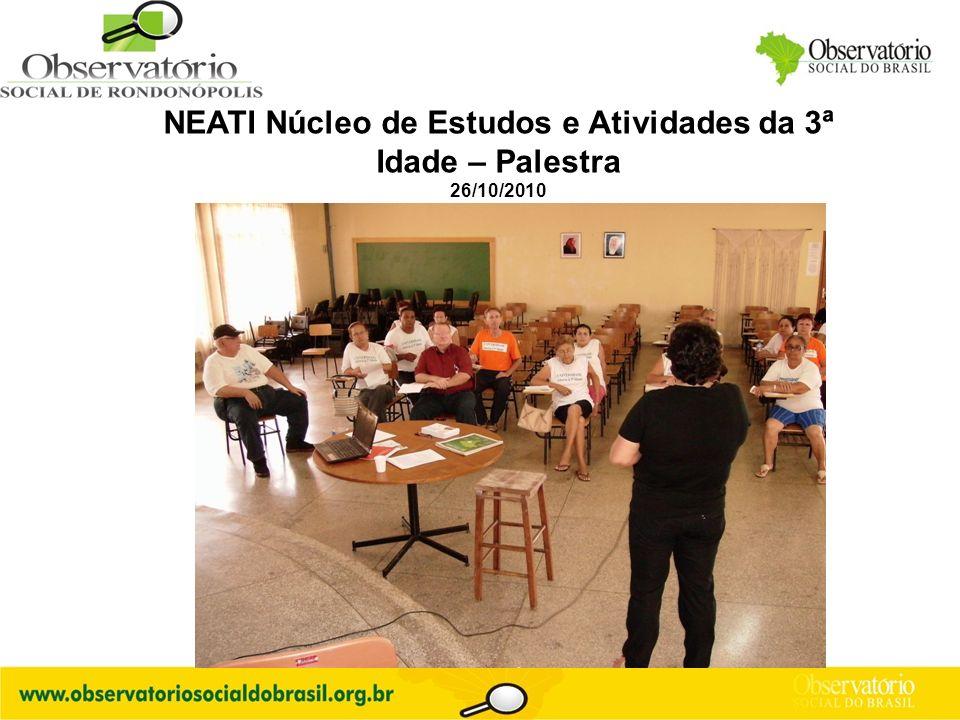 Logo do OS NEATI Núcleo de Estudos e Atividades da 3ª Idade – Palestra 26/10/2010