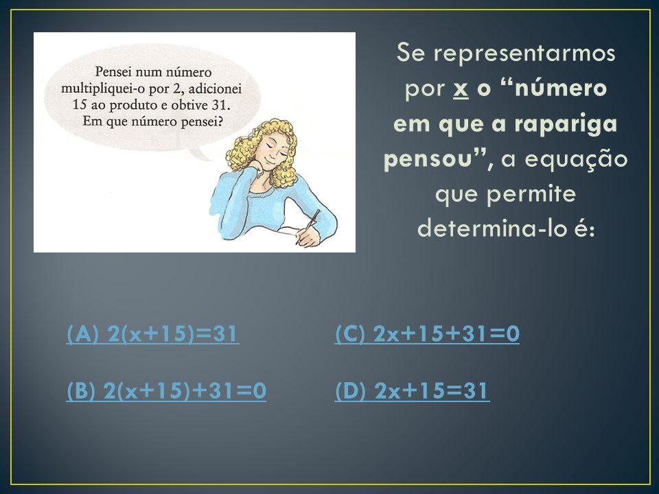 A número de CDs da rapariga é: (A) 13,5(C) 13 (B) 14(D) O problema é impossível