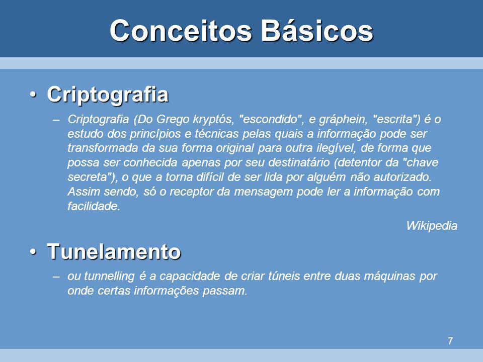 7 Conceitos Básicos CriptografiaCriptografia –Criptografia (Do Grego kryptós,