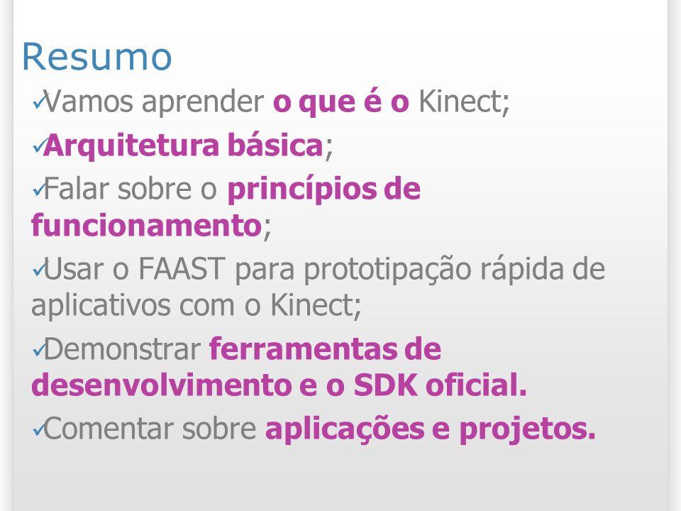Aplicações e possibilidades do Kinect Mocap baratíssimo! Mocap 67 2/11/2013