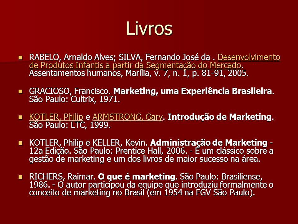 Livros RABELO, Arnaldo Alves; SILVA, Fernando José da.