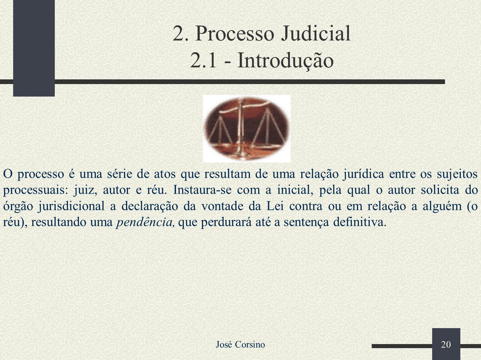 José Corsino 19 JUSTIÇA ESTADUAL Comum 1ª INSTÂNCIA2ª INSTÂNCIA Tribunal de Justiça do Estado Desembargadores Comarcas de 1ª, 2ª e 3ª Entrância Comarc