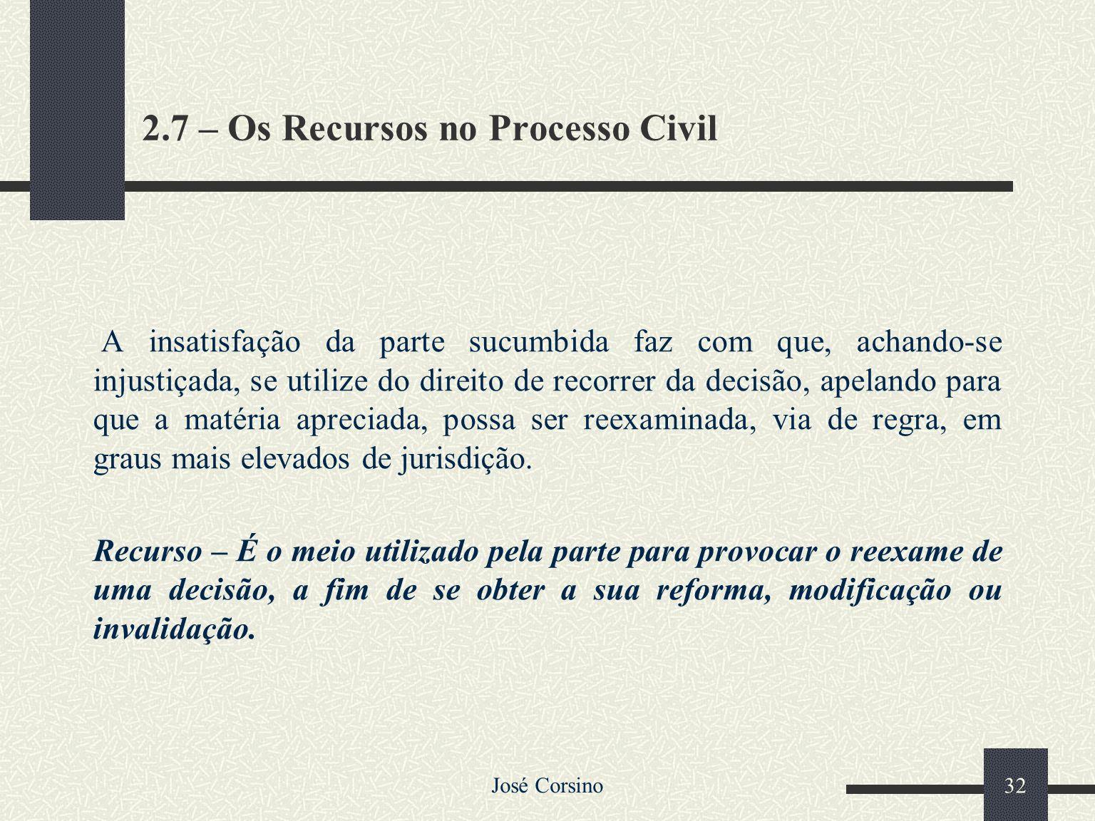 José Corsino 31 2.6 - FLUXO DA PERÍCIA CONTÁBIL Pedido da prova – Arts. 437, 846 e 915 Dispensa de prova Art. 427 Indeferimento Arts. 130 e 420 Nomeaç