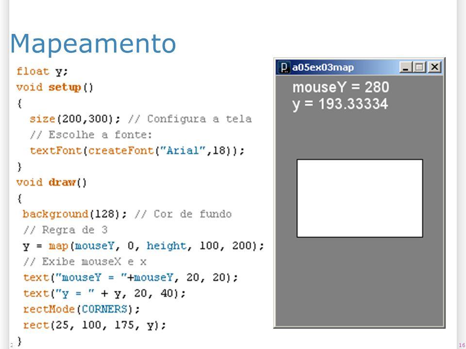 162/11/2013 Mapeamento