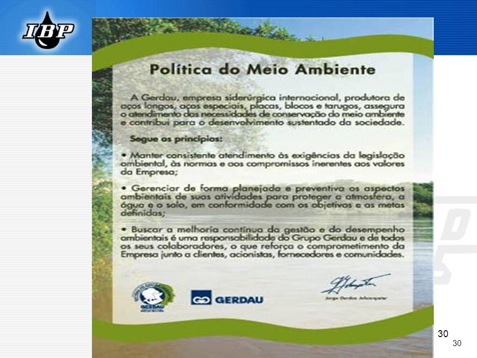 30 Política Ambiental