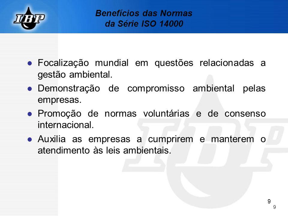 10 DETALHAMENTO DA NORMA DE SISTEMA DE GESTÃO AMBIENTAL NBR ISO 14001: 2004