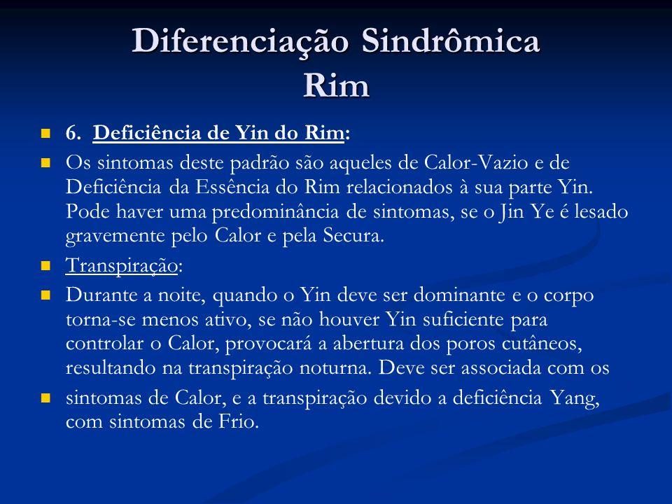 Diferenciação Sindrômica Rim 6.