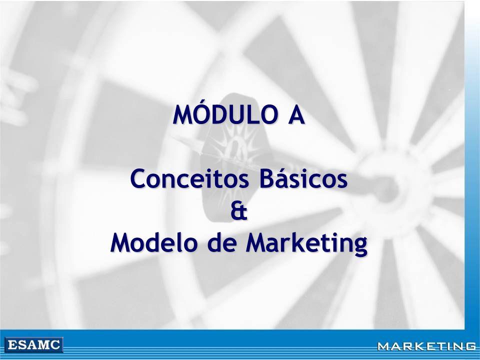 Objetivos Entender o perfil do cliente de hoje Entender o que é marketing e suas implicações Quem faz o marketing Conhecer os conceitos importantes do marketing O Executivo de Marketing, seus desafios, sua atuação Conhecer as orientações das empresas para o mercado