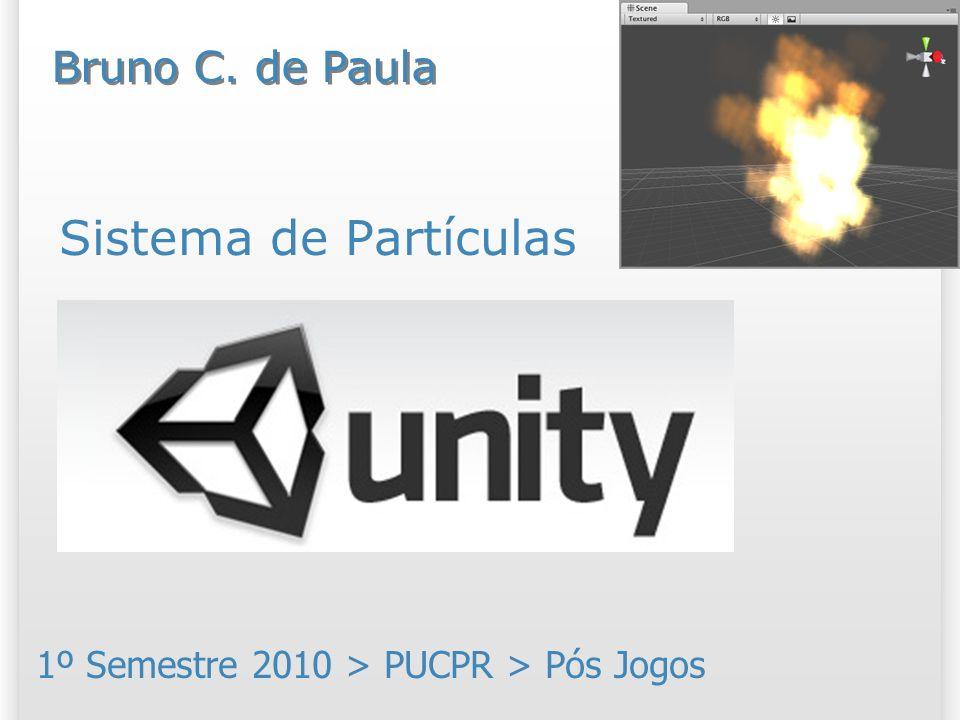 Resumo Hoje vamos entender o sistema de partículas do Unity 3D; Vamos trabalhar com os componentes: Ellipsoid Particle Emitter; Mesh Particle Emitter; Particle Animator; Particle Renderer; Trail Renderer; World Particle Collider.