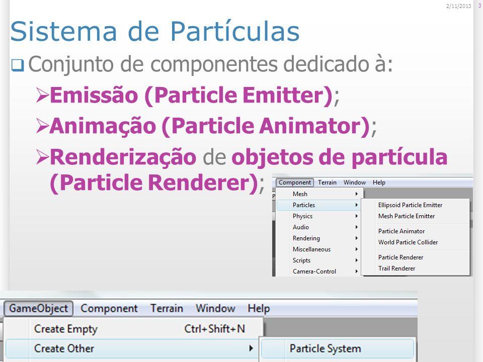 Partículas são diferentes dos objetos normais.