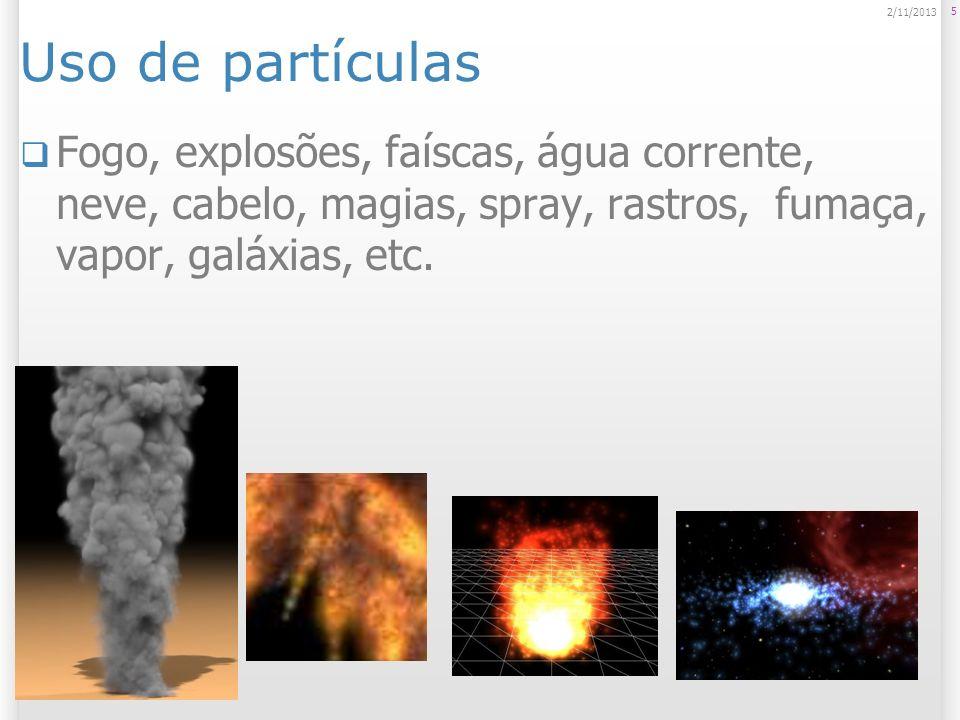 Prefabs de partículas prontos 6 2/11/2013