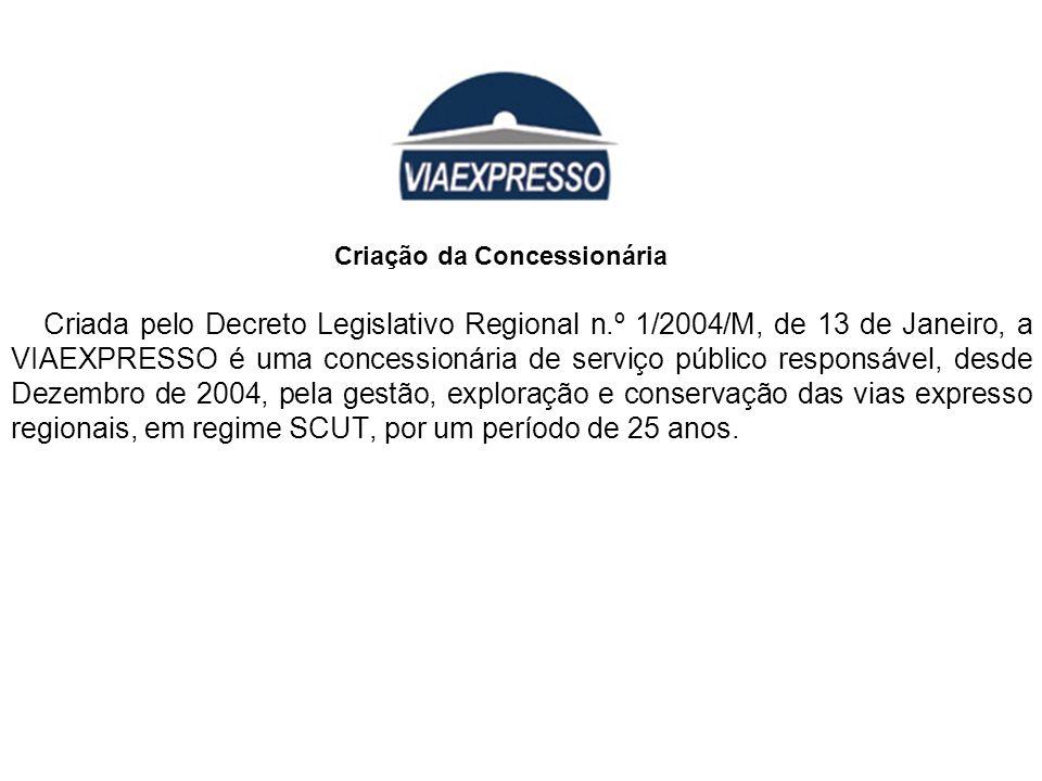Criada pelo Decreto Legislativo Regional n.º 1/2004/M, de 13 de Janeiro, a VIAEXPRESSO é uma concessionária de serviço público responsável, desde Deze