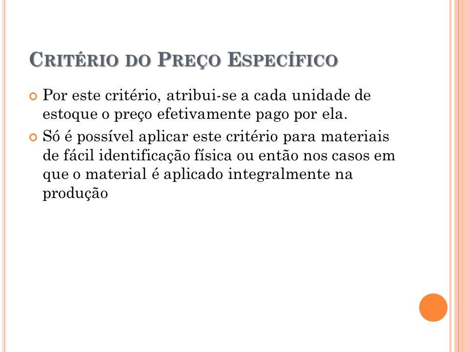 PEPS, UEPS E P REÇO M ÉDIO PEPS: primeiro a entrar, primeiro a sair ou, em inglês, First In, First Out (FIFO).