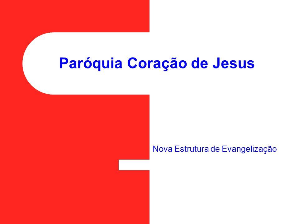 Paróquia Coração de Jesus Nova Estrutura de Evangelização