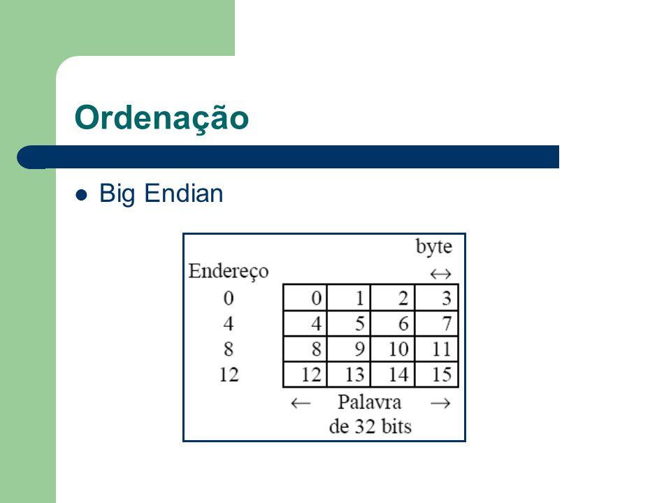 Ordenação Big Endian