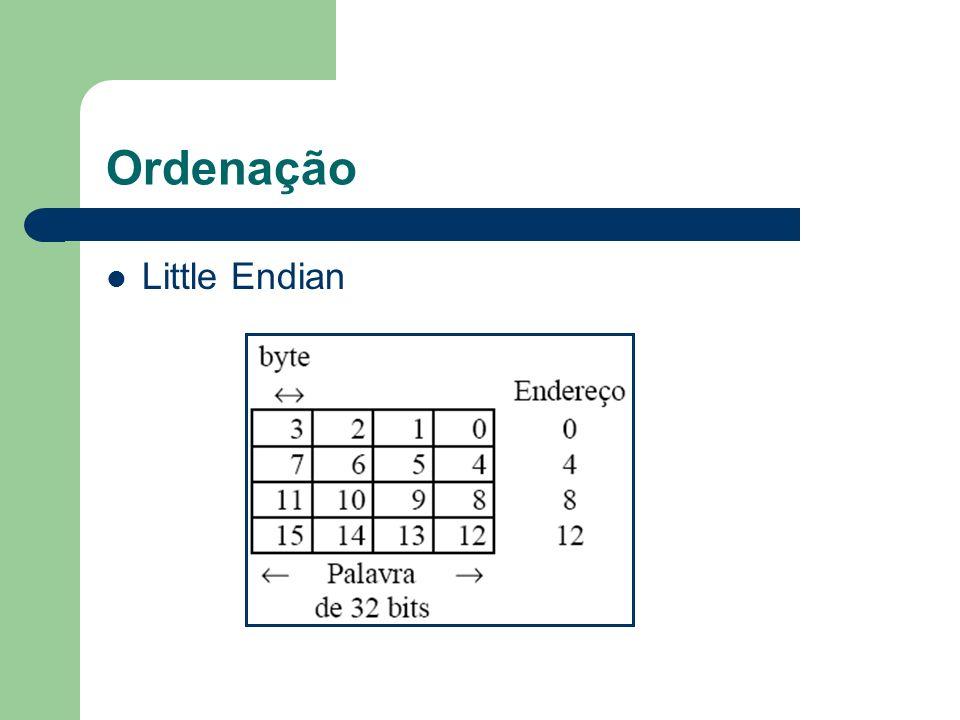 Ordenação Little Endian