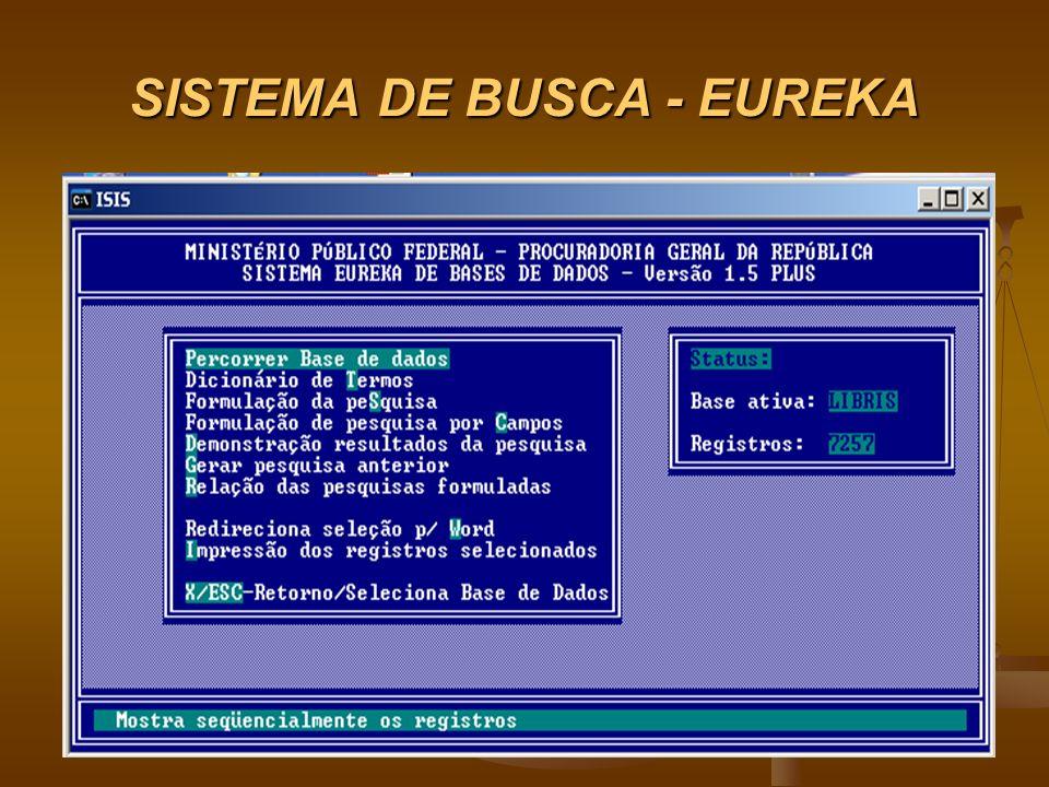 SISTEMA DE BUSCA - EUREKA