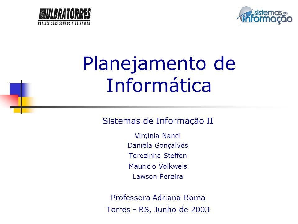 2 Sumário Introdução Planejamento Estratégico de Informações Modelagem dos Processos Hardware e Software Estudo de Viabilidade Conclusão