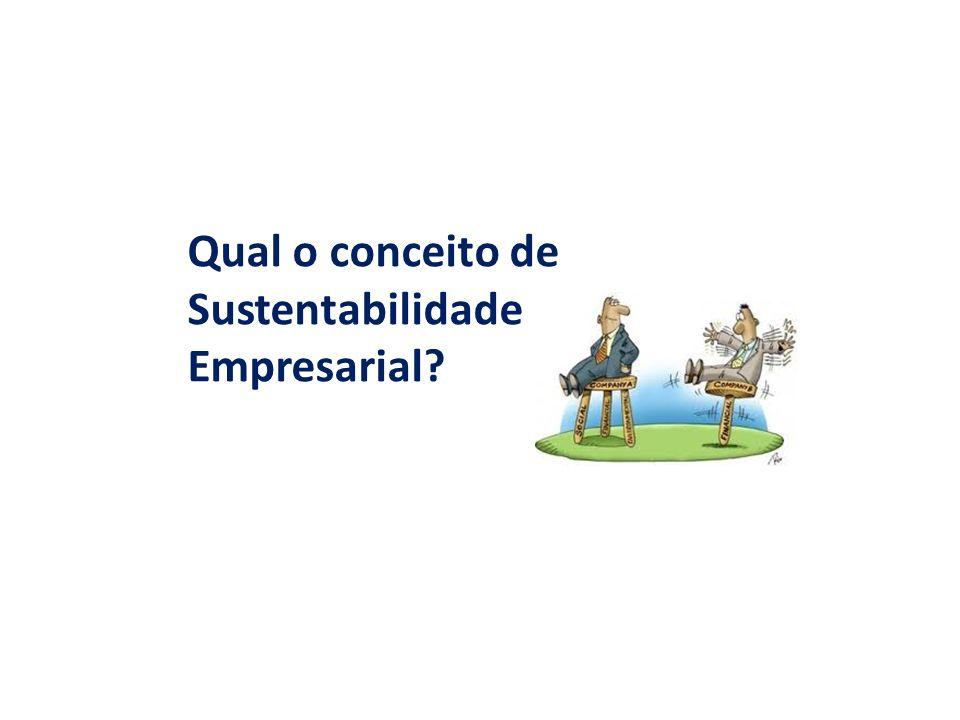 Sustentabilidade Empresarial (SE) O comportamento empresarial em relação à sustentabilidade a partir de ações e programas desenvolvidos e mensurados por meio de aspectos econômicos, sociais e ambientais (CALLADO, 2010, p.
