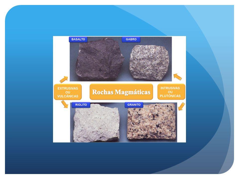 Minerais e Rochas - Definições Rochas Sedimentares - Resultam da deposição de detritos de outras rochas (magmáticas ou metamórficas), ou do acúmulo de detritos orgânicos ou ainda, da precipitação química.