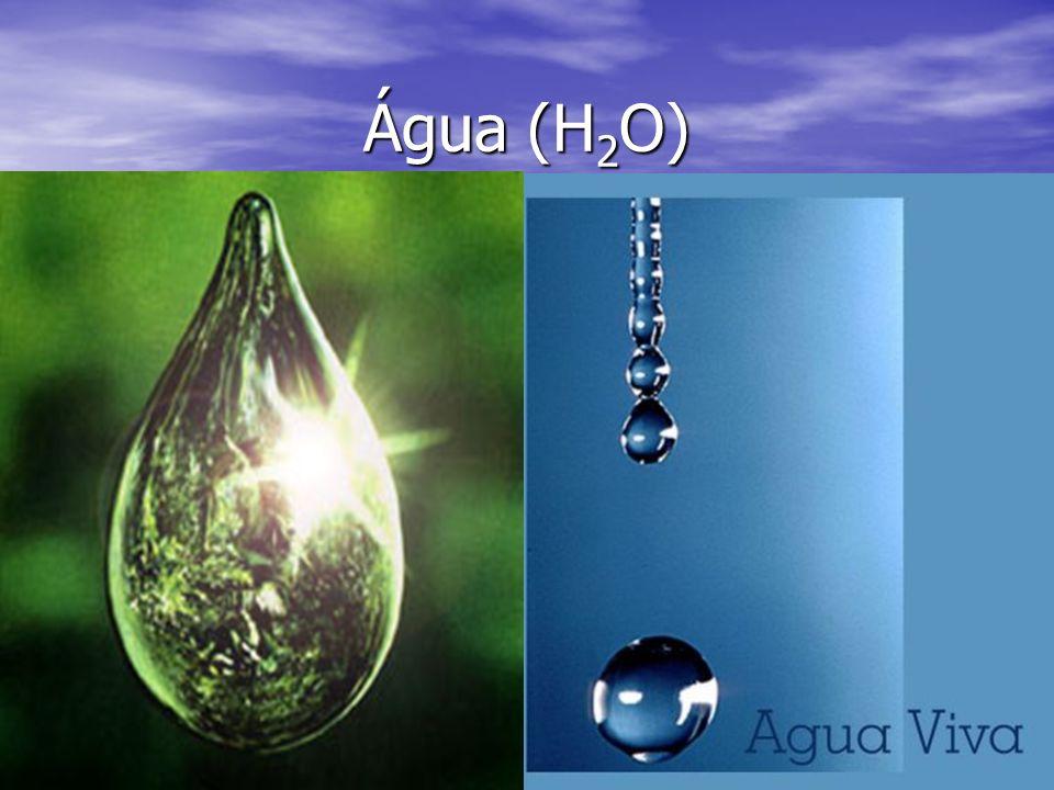 Água (H 2 O)