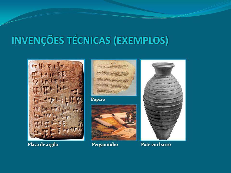 Pergaminho Placa de argila Papiro Pote em barro