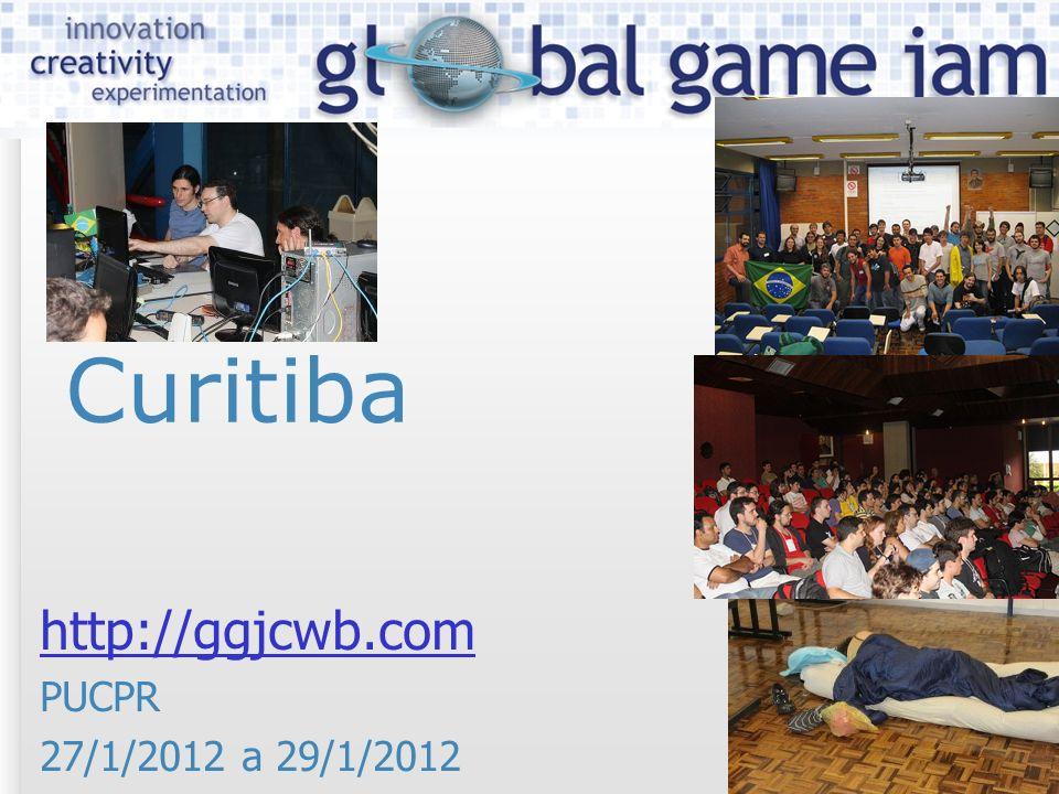 Curitiba http://ggjcwb.com PUCPR 27/1/2012 a 29/1/2012