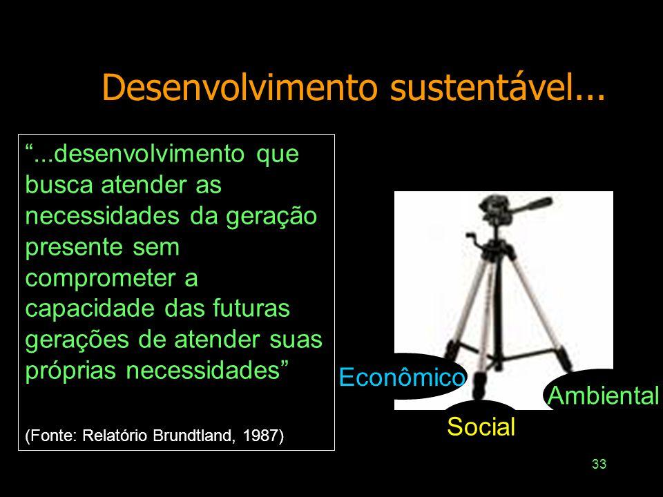 32 Desenvolvimento, política e liberdade Amartya Sen –Desenvolvimento como liberdade –A expansão da liberdade humana como principal fim e principal me