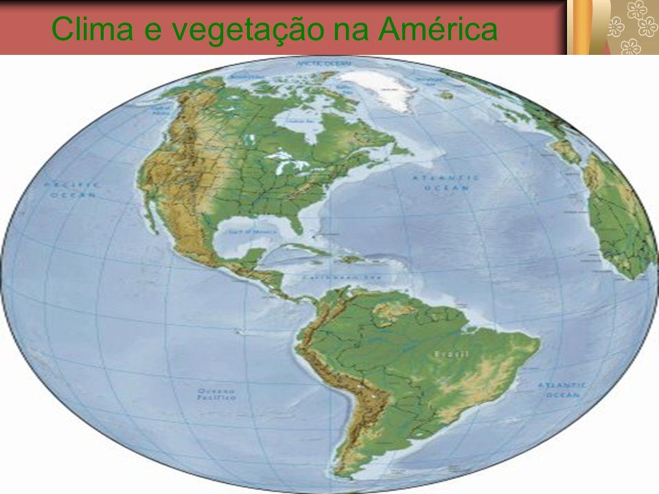 Clima na América do Norte A América do Norte é um subcontinente que compreende a porção setentrional do continente americano, que inclui ainda a América Central e a América do Sul.