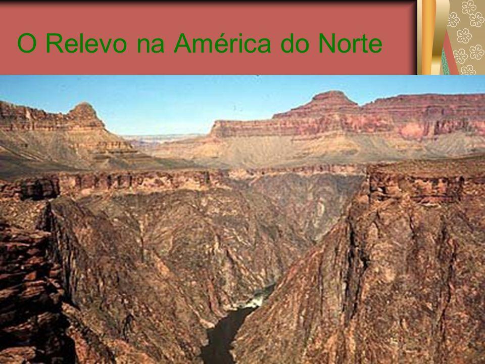 Hidrografia A principal característica do continente são os Grandes Lagos, na fronteira dos Estados Unidos com o Canadá.