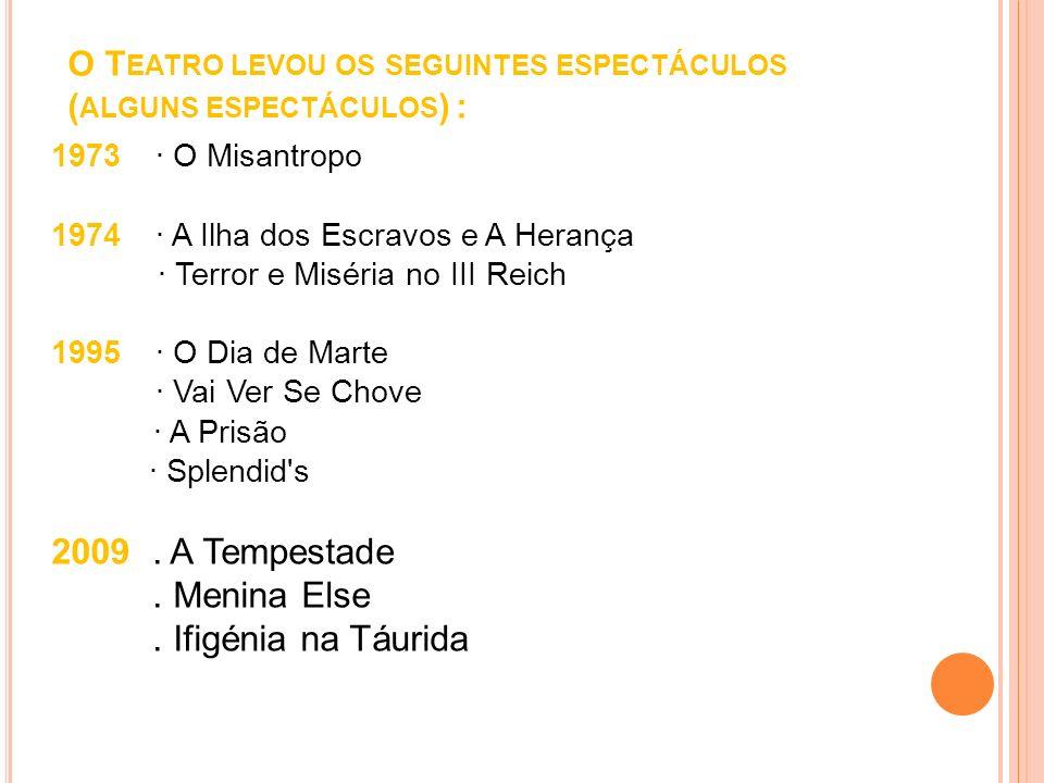 A SALA DE TEATRO DE C OMUNA No dia 1 de Maio de 1972 nascia a COMUNA – TEATRO DE PESQUISA num 2º andar da Rua Pedro Nunes, em Lisboa.