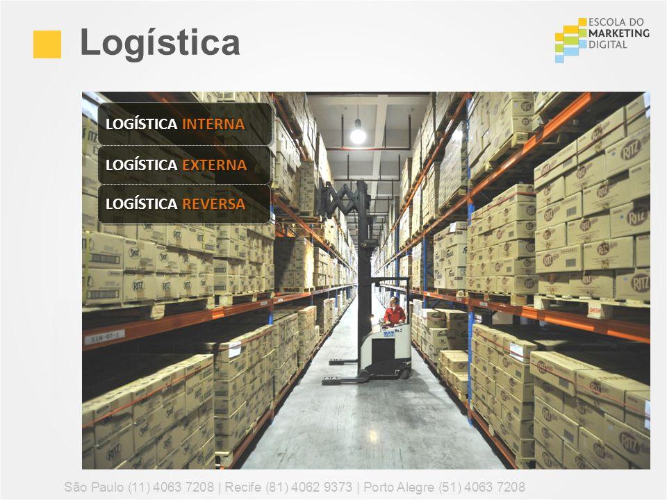 Logística São Paulo (11) 4063 7208 | Recife (81) 4062 9373 | Porto Alegre (51) 4063 7208 LOGÍSTICA INTERNA LOGÍSTICA EXTERNA LOGÍSTICA REVERSA