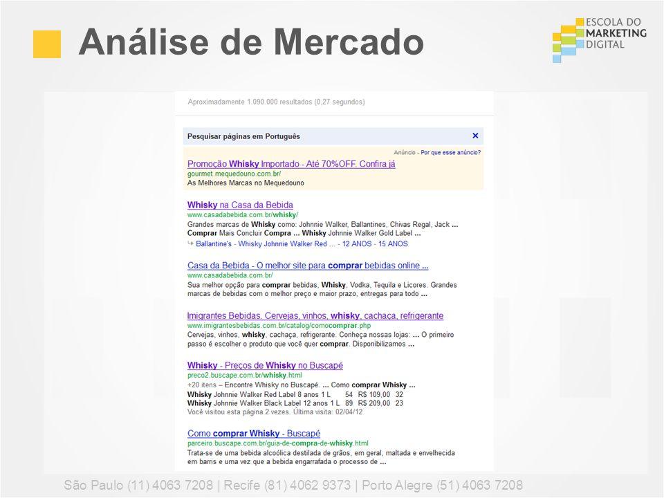 Análise de Mercado São Paulo (11) 4063 7208 | Recife (81) 4062 9373 | Porto Alegre (51) 4063 7208