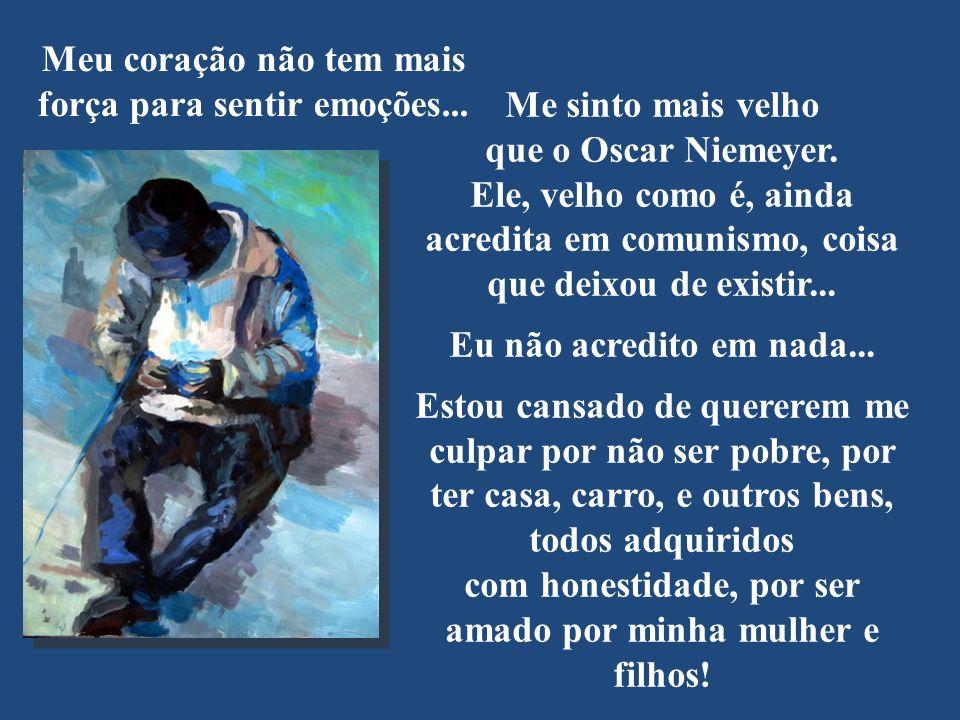 Mesmo que ela seja a última brasileira patriota, valeu a pena viver para ler o texto.