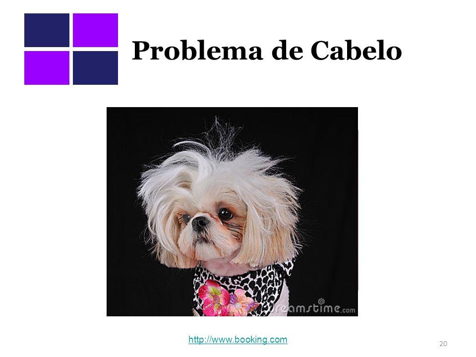 Problema de Cabelo 20 http://www.booking.com