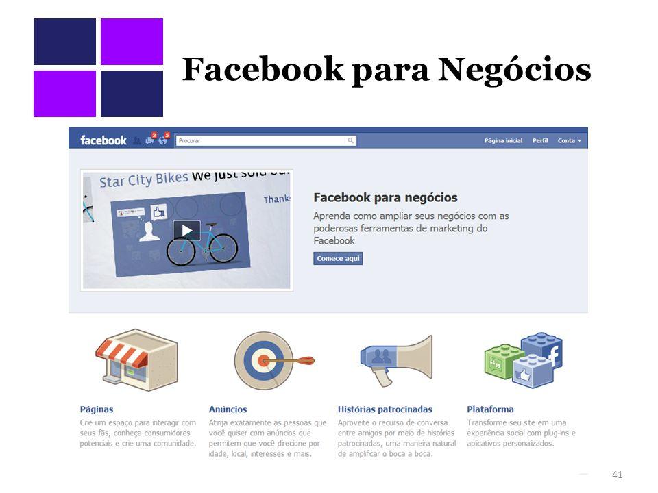 Facebook para Negócios 41