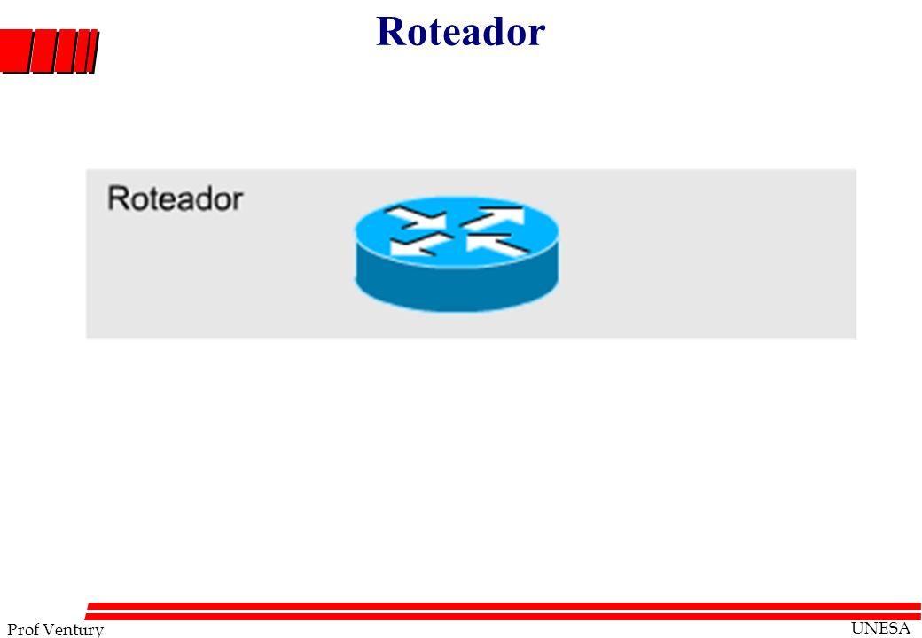 Prof Ventury UNESA Roteador
