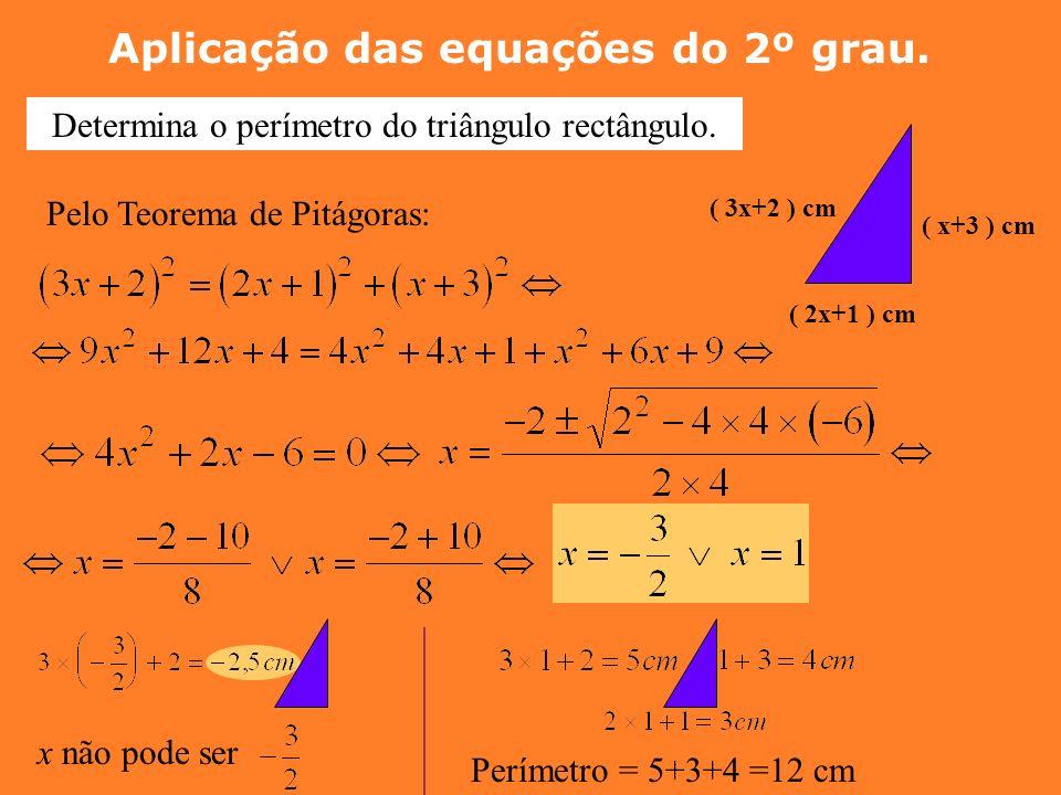 Resolve a Equação 1º Reduzir à forma canónica a = 2 ; b = - 12 ; c = 18 3 é uma raiz dupla da equação Conclusão: Se o Binómio Discriminante é zero, a