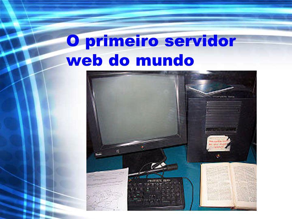 O primeiro servidor web do mundo