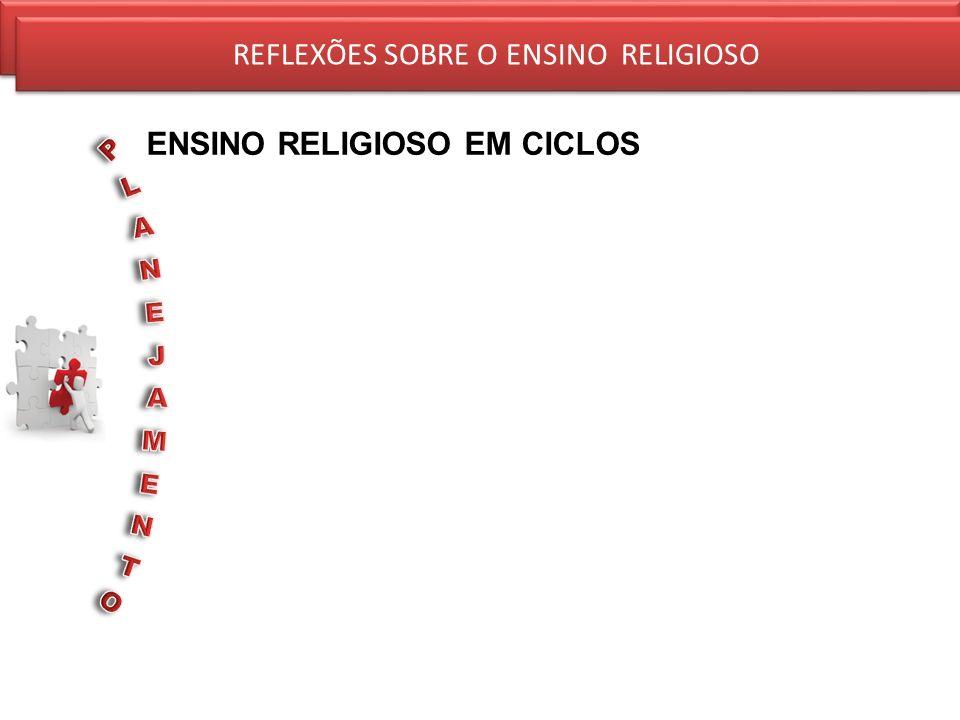 REFLEXÕES SOBRE O ENSINO RELIGIOSO ENSINO RELIGIOSO EM CICLOS REFLEXÕES SOBRE O ENSINO RELIGIOSO