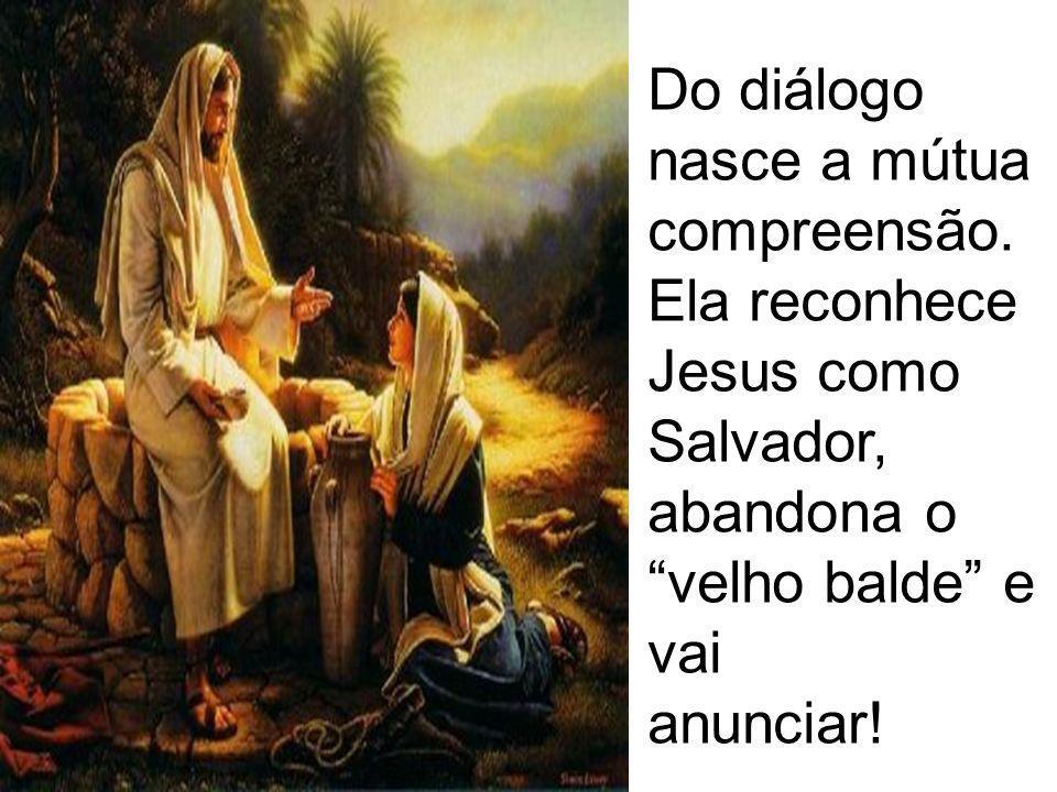 O Caminho da Samaritana: Esse Diálogo mostra a grande pedagogia de Jesus, que se revela aos poucos.