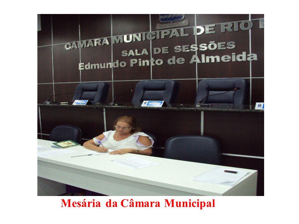Mesária da Câmara Municipal