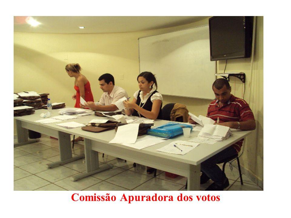 Comissão Apuradora dos votos