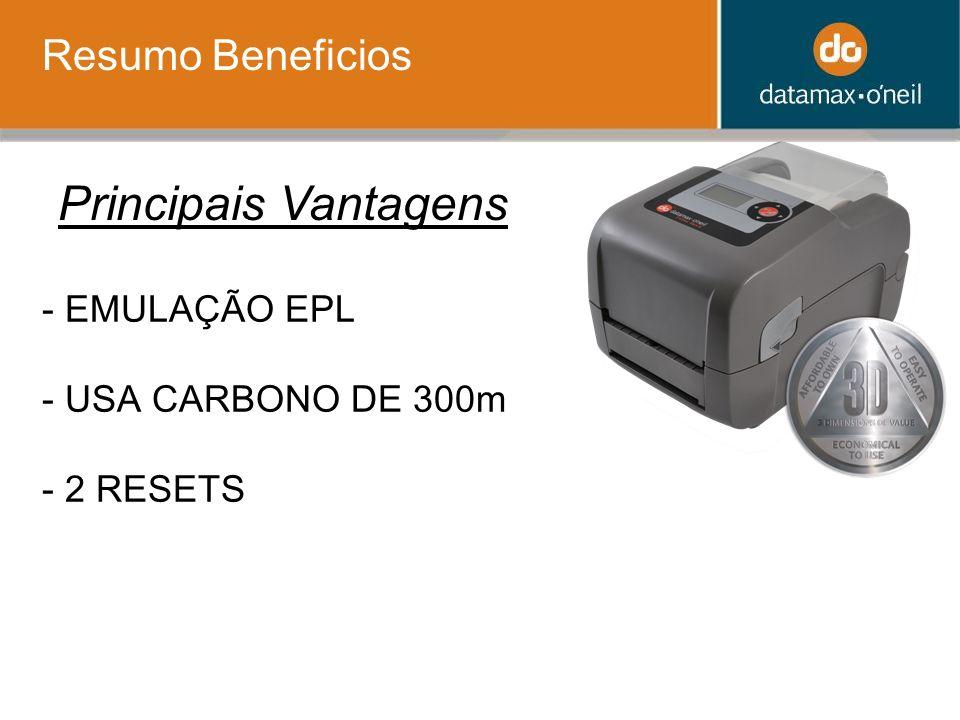 - EMULAÇÃO EPL - USA CARBONO DE 300m - 2 RESETS Resumo Beneficios Principais Vantagens